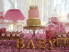 Image result for baby jar for birthday favor diy gold and pink
