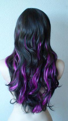 Omg Love this!!!!! Purple highlights