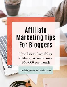 Affiliate Marketing Tips For Bloggers - Free eBook. Here's how to make money blogging with affiliate income. Make Money Blogging, How To Make Money, Business Tips, Online Business, Creating Passive Income, Extra Money, Free Ebooks, Affiliate Marketing, Making Ideas