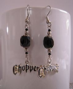 """Choppers"" Earrings"