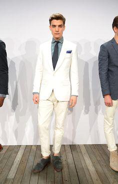 J Crew coleccion primavera verano 2014 New York Fashion Week Blazers, J Crew, Gq, Suit Jacket, Breast, Suits, Formal, Jackets, Style
