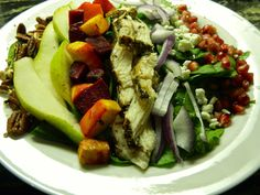 The Hunting Wife: Roasted Beet Fall Salad With Rosemary Chicken and ...
