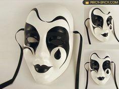 Hand made paper mache maske- I love them! Halloween Masquerade, Masquerade Ball, Arte Punch, Vincent Van Gogh, Harlequin Mask, Paper Mache Mask, Ceramic Mask, Venetian Carnival Masks, Hippie Baby