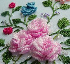 Ruth's Full-Blown Rose from Mini-Roses B.E. design