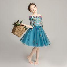 8f3f218d56150 ... 有90 100 110 120 130 140 150 160 キッズ ドレス パーティー お姫様 ワンピース 子供ドレス オフショルダー  ファスナータイプ 子どもドレス 女の子 ショート丈 ...