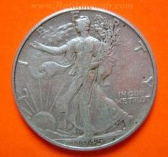 Walking Liberty silver Half Dollar, one of the most impressive US coin designs by Adolph Weinman