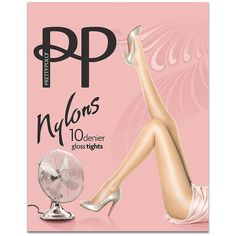 Pretty Polly Sheer Gloss Nylons featuring polyvore, fashion, clothing, intimates, hosiery, tights, pantyhose, sheer, women, nylon pantyhose, pantyhose tights, nylon stockings, glossy pantyhose and shiny tights