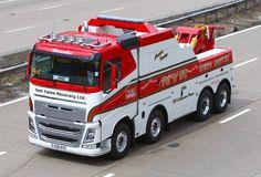 VOLVO - служба NYR (Royaume Uni) Volvo Trucks, Rc Trucks, Tow Truck, Peterbilt, Towing And Recovery, Road Train, Heavy Truck, Transportation, Vehicles