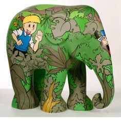 Jommekes Jungle Olifant   Elephant Parade   Contributing to the conservation of Asian Elephants