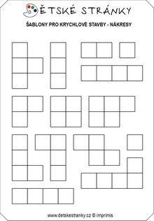 Šablony - krychlové stavby (matematika prof. Hejného) Computer Keyboard, School, Preschool, Games, Geometry, Computer Keypad, Keyboard, Schools