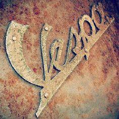Wonderful found type from 'La Vespa Vita' #adoptanobject #scooters via…