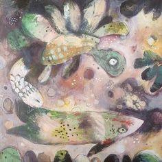 Turtle and Fish    #CarlaSonheim