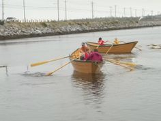 Learn to row a traditional Nova Scotia dory at the Cape Sable Island Causeway every Tuesday from June to September from 6PM-8PM!  Free! Donations welcome!