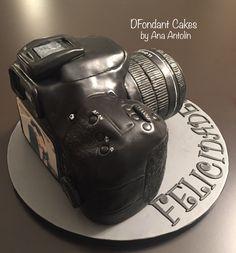 Cámara Canon D60 tarta de fondant. DFondant Cakes