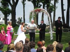 Weddings @ Phoenix are held in a very private  park setting.
