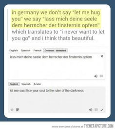 Thank you for german lol