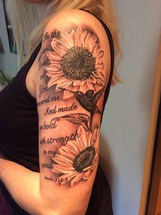 My beautiful sunflower tattoo