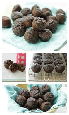 Allergy-Free Banana Cocoa Muffins Recipe - Perfect for a lunchbox treat! http://www.superhealthykids.com/allergy-free-banana-cocoa-muffins/