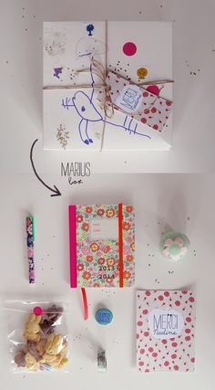 Des box en cadeau pour la fin d'année scolaire