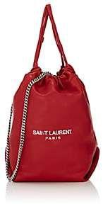 e45b59f80e46 Saint Laurent Women s Teddy Sac Leather Bucket Bag-Red Women s Teddies
