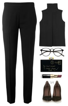 """""""Sign Of The Time"""" by youryulianna ❤ liked on Polyvore featuring Vince, Yves Saint Laurent, Givenchy, Chloé, Bobbi Brown Cosmetics and modern"""