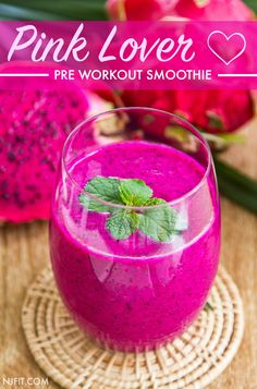 This is NOT one of those smoothies that looks better than it tastes… This is CRAZY delicious AND beautiful. Click the image above for full recipe!