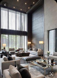 Mid Century Modern Living Room, Elegant Living Room, Elegant Home Decor, Living Room Modern, My Living Room, Living Room Interior, Living Room Designs, Small Living, Church Interior