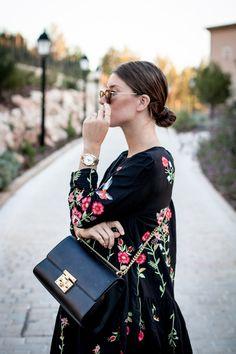 OUTFIT: zara floral dress   Bikinis & Passports