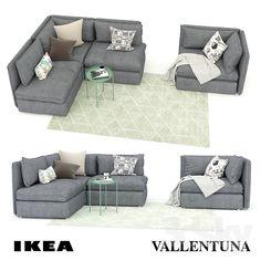 The Best 2019 Interior Design Trends - Interior Design Ideas Ikea Sofas, Ikea Sofa Bed, Ikea Armchair, Sofa Sofa, Ikea Vallentuna, Glamour Living Room, Single Apartment, Modern Murphy Beds, Ikea Living Room