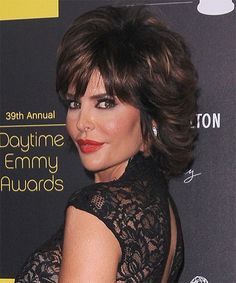 Lisa Rinna formal short hairstyle