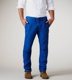 cobalt blue pants mens - Google Search | Bridesmaids dresses and ...