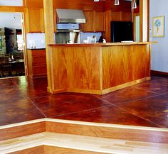 gorgeous concrete floor