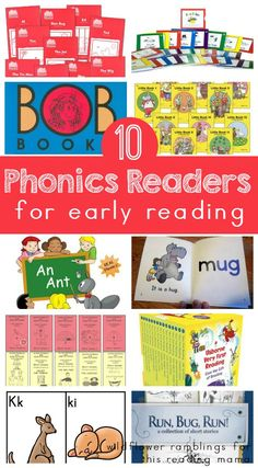 10 Phonics Readers for Early Reading - Wildflower Ramblings for This Reading Mama