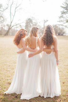 Bohemian Bridal Style Ideas