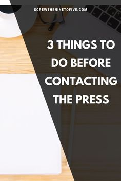You're almost ready to pitch your story to the press! Here are 3 things you should do before reaching out to the media to pitch your story! Social Media Channels, Social Media Tips, Make More Money, Make Money From Home, How To Remove, How To Get, Earn Money Online, Blog Tips, Time Management