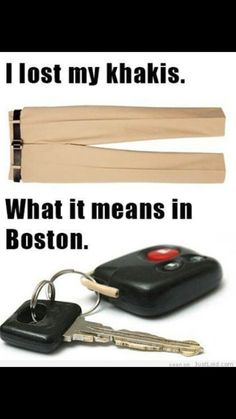 How to speak Boston. ..lol