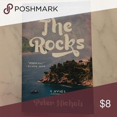 The Rocks by Peter Nichols Like new paperback book---Set on the island of Mallorca, The Rocks is a double love story told in reverse. Opening in 2005 with a dramatic event that seems to seal the mystery of two lives, the story moves backwards in time, unravelling over sixty years, amid the olive groves and bars, the boats and poolside parties, the lives and relationships of two intertwined families within an expat community of endearing and flawed characters. Other