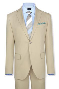 beige suit #vakko