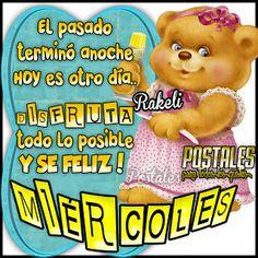 Postales Para Compartir.: MIÉRCOLES!!