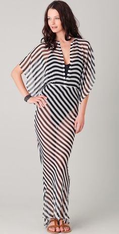 Norma Kamal - Obie Cover Up Gown