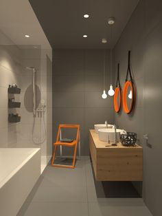modern bathroom | VIZN studio