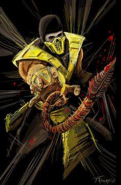 Mortal Kombat Trilogy - Скорпион (Scorpion) Get over here!