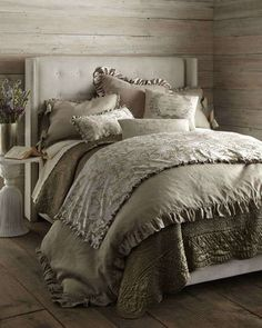-4KVW French Laundry Home Aimee Bedding