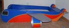 Southwest Airplane Toddler Bed