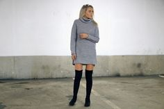 thigh high boots by TCMN ♥  #Outfits, #Personal