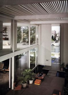CSH nº 25, Casa Frank. Killingsworth, Brady, Smith y Associates. 1962 Rivo Alto Canal, Long Beach. California.