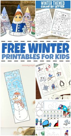 7 Winter Fun Worksheets for Preschool Free Winter Worksheets for Kids √ Winter Fun Worksheets for Preschool . 7 Winter Fun Worksheets for Preschool . What Es before In Between and after in Winter Activities For Kids, Winter Crafts For Kids, Color Activities, Holiday Activities, Preschool Activities, Preschool Winter, Kids Fun, Spring Crafts, Kids Crafts