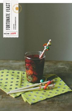 How To Make Awesome DIY Drink Stirrers | Quick & Easy Ways To Dress Up Your Drink By DIY Ready. http://diyready.com/cool-summer-crafts-diy-projects-recipes/