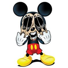 skull mickey mouse - Google Search