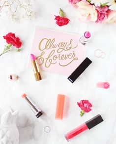 Can you think of a better way to welcome in the new spring season than trying out some hot spring lip colors? Here are some of our current favorites! #spring #lipcolor #beauty #lipstick #makeup